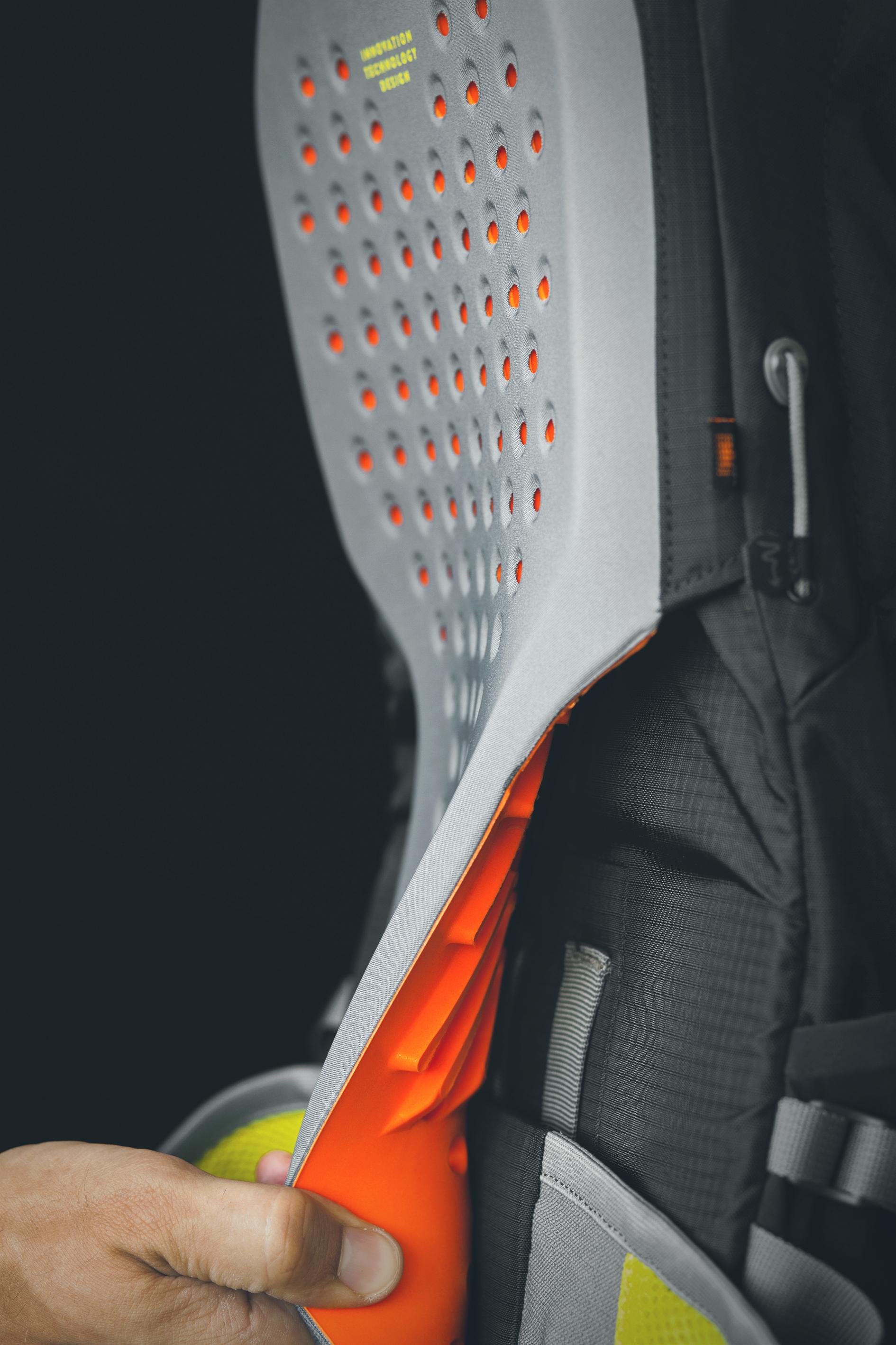 Scott Bike Backpack Protector Panel Detail Estragon Design