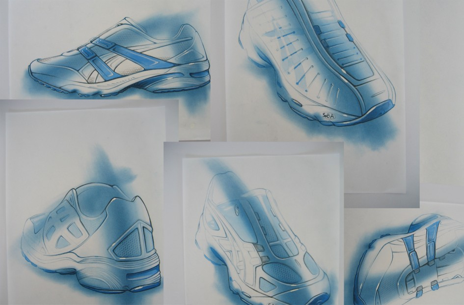 Asics Shoe Development